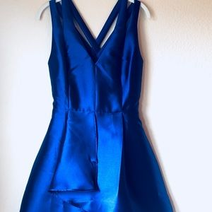 Cobalt Blue Nordstrom Dress NWT